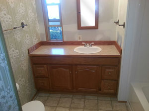 Mobile/Modular/Manufactured Home Bathroom Remodel Auburn, Kent